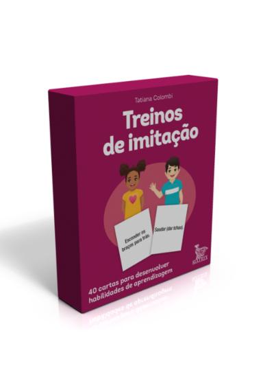 CAIXINHA TREINOS DE IMITAÇÃO