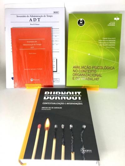 Combo BURNOUT + TESTE ADT + AVALIAÇÃO PSICOLÓGICA NO CONTEXTO ORGANIZACIONAL E DO TRABALHO