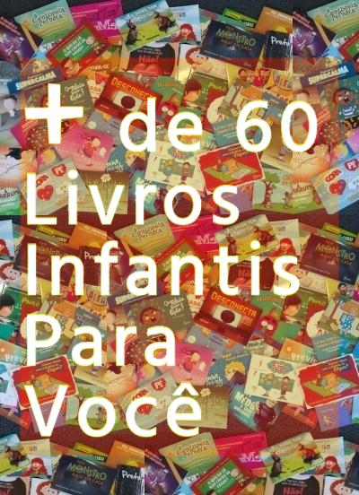 COMBO INFANTIL COM MAIS DE 60 LIVROS