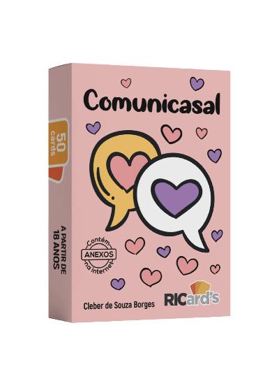 COMUNICASAL: 50 cards terapêuticos para a comunicação assertiva entre o casal