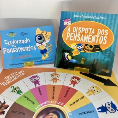 Kit A disputa dos pensamentos + Explorando os pensamentos