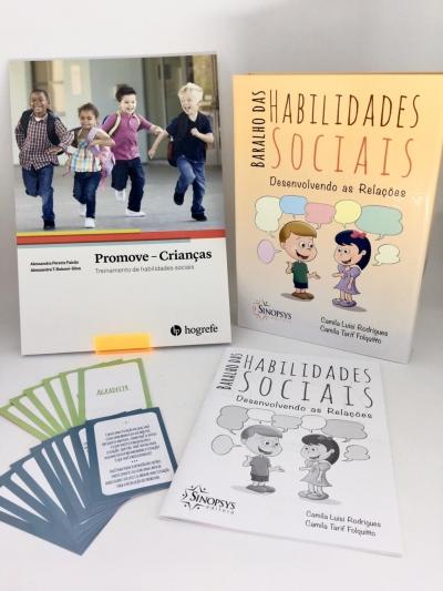 Kit Baralho das Habilidades Sociais + Promove Crianças