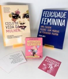 Kit Ciclo de Vida da Mulher + Caixinha Maternidade e Carreira + Felicidade Feminina