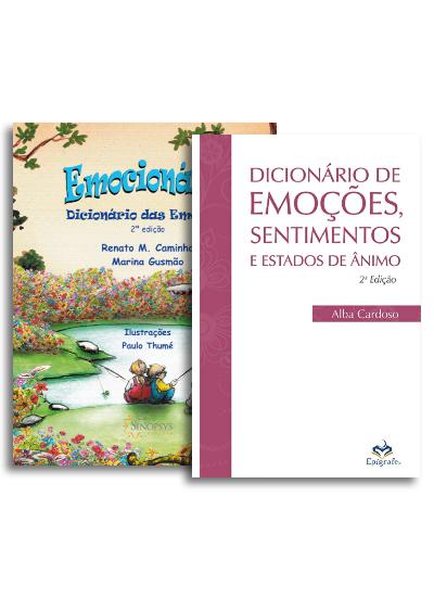 Kit Emocionário + Dicionário das emoções