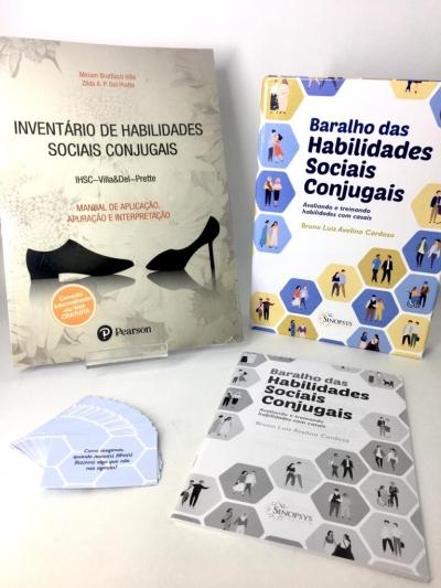 Kit IHSC - INVENTÁRIO DE HABILIDADES SOCIAIS CONJUGAIS + BARALHO DAS HABILIDADES SOCIAIS CONJUGAIS: AVALIANDO E TREINANDO HABILIDADES COM CASAIS