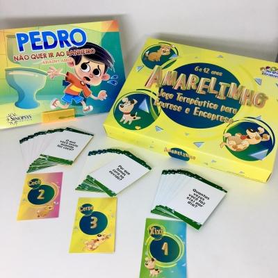Kit Pedro não quer ir ao banheiro + Amarelinho