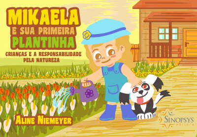 Mikaela e sua Primeira Plantinha: Crianças e a Responsabilidade pela Natureza